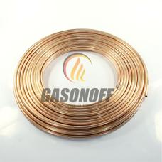 Труба медь 8 мм LPG 0,8 мм (48 м)