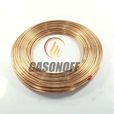 Труба медь 6 мм LPG 0,8 мм (48 м)