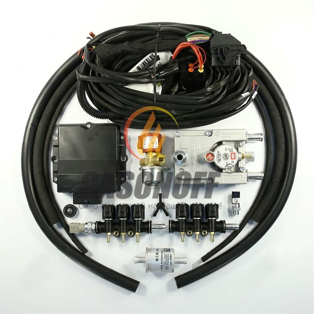 Впрыск 6 цил V BRC ALBA PLUS 165 до 190 кв (без жиклёров) G-MAX ГБО