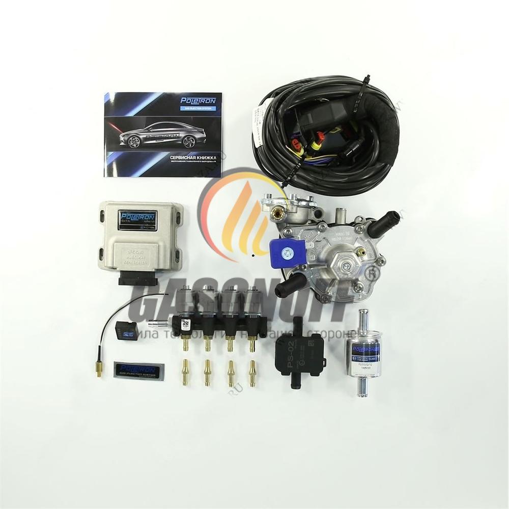 Комплект 4C POLETRON STANDART NORDIC F2.5 до 125 кВт ГБО