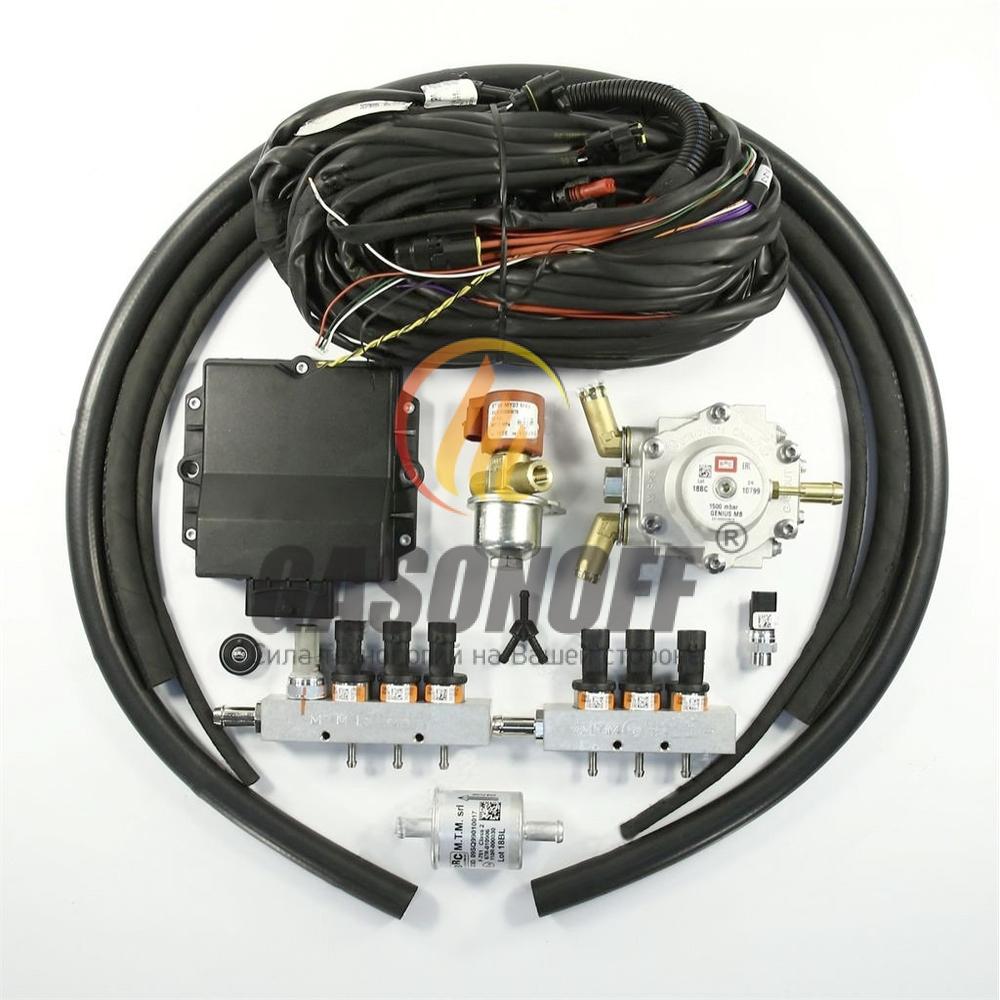Впрыск 6 цил V BRC PD 120 до 140 кв (оранжевые) PLUS 1500 ГБО