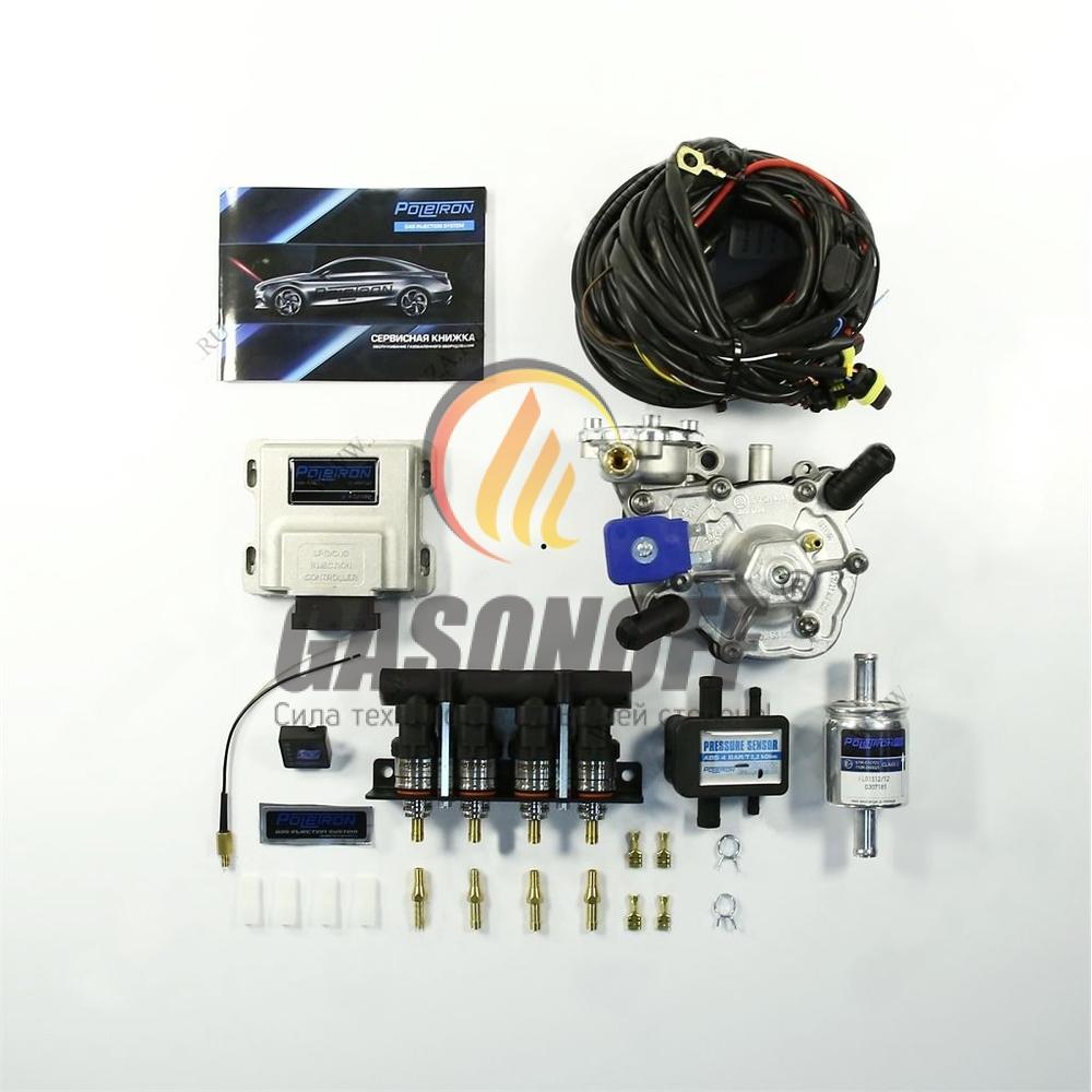 Комплект 4C POLETRON STANDART NORDIC F1.8 до 125 кВт ГБО
