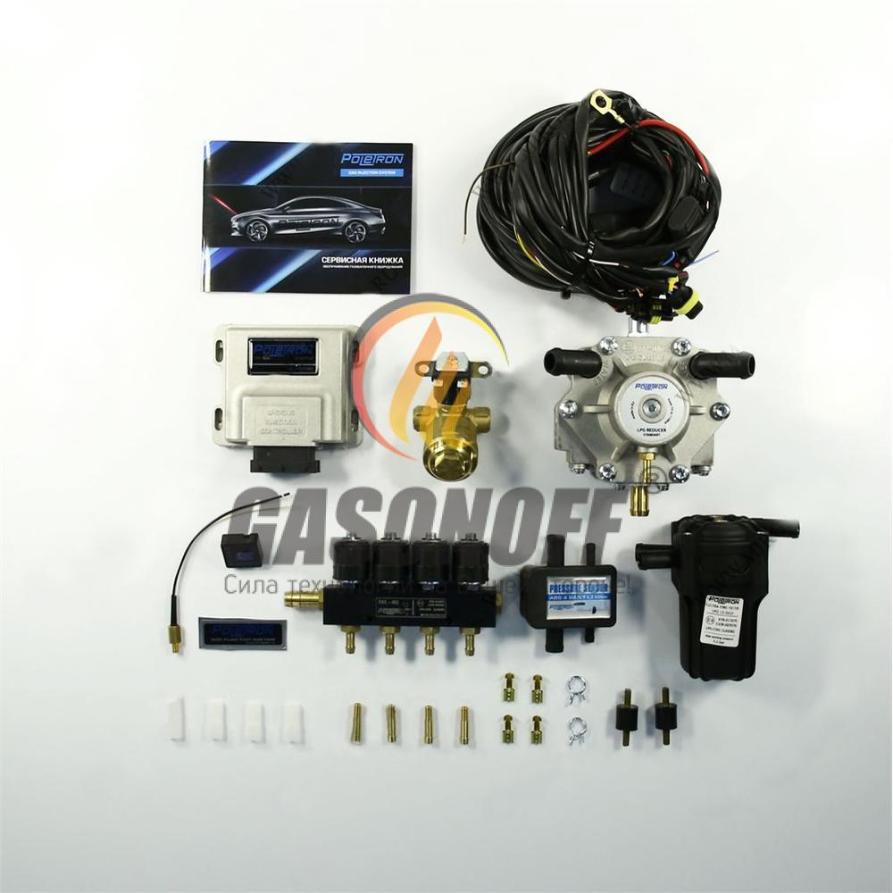 Комплект 4C POLETRON STANDART 1200 F3.6 от 60 до 110 кВт ГБО
