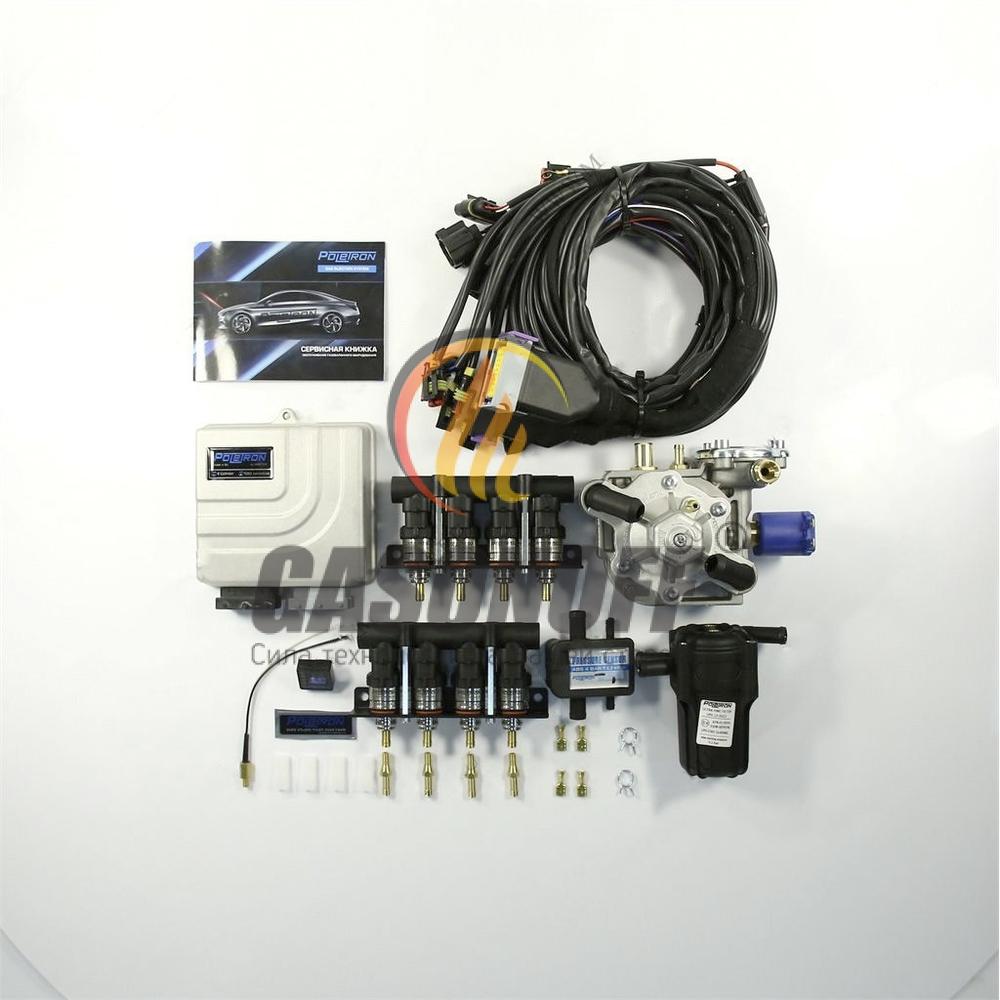 Комплект 8C POLETRON PREMIUM ANTARTIС F-1.8 от 140 до 220 кв ГБО
