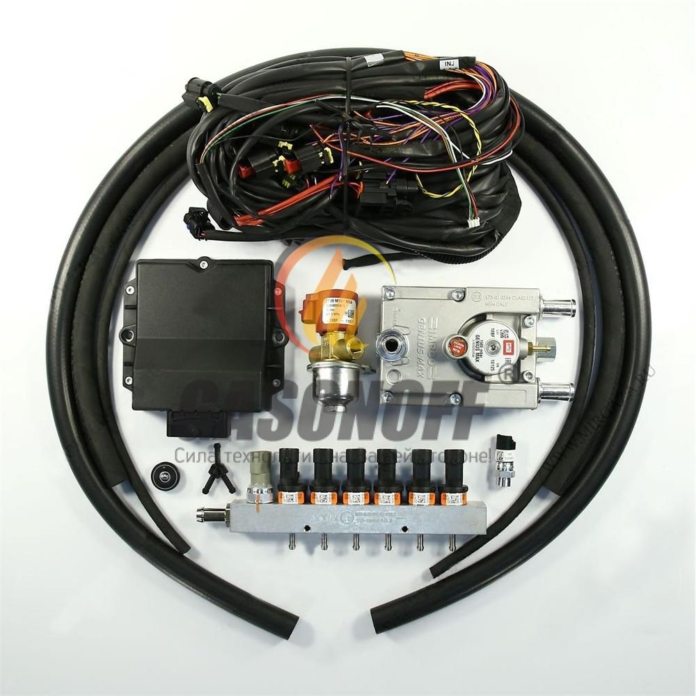 Впрыск 6 цил рядный BRC PD 140 до 165 кв PLUS без фильтра G-MAX ГБО
