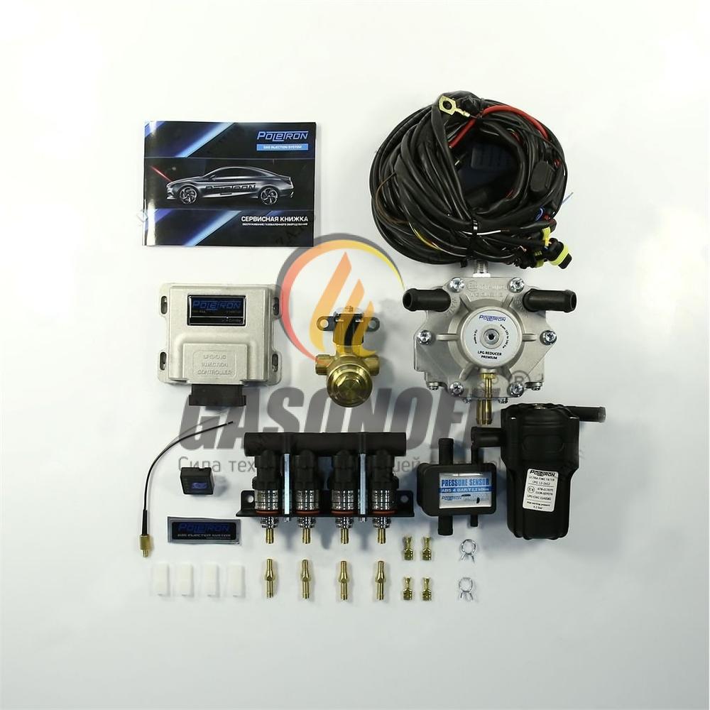 Комплект 4C POLETRON STANDART 1500 F1.8 от 110 до 140 кВт ГБО