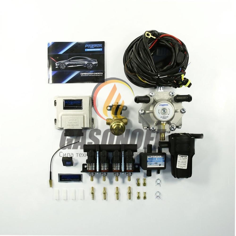 Комплект 4C POLETRON STANDART 1200 F1.8 от 60 до 110 кВт ГБО