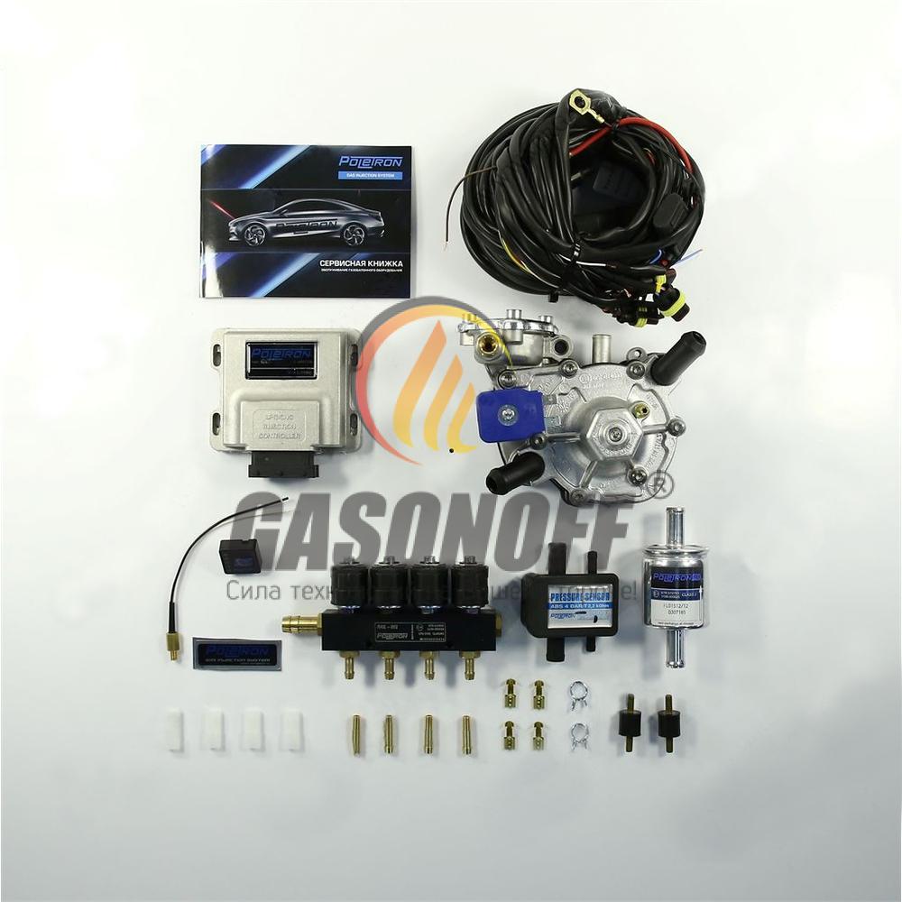 Комплект 4C POLETRON STANDART NORDIC F3.6 до 125 кВт ГБО