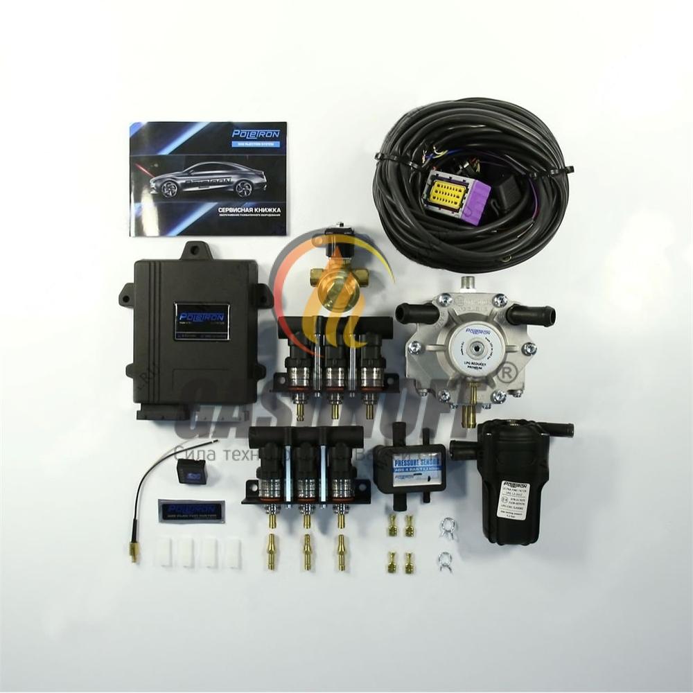 Комплект 6C POLETRON PREMIUM 1500 F1.8 от 110 до 140 кВт ГБО