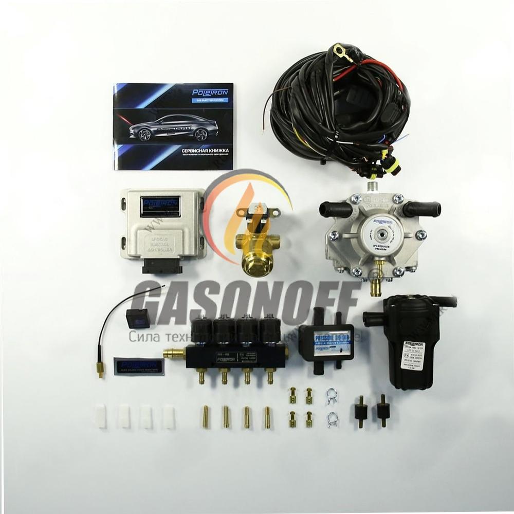 Комплект 4C POLETRON STANDART 1500 F3.6 от 110 до 140 кВт ГБО