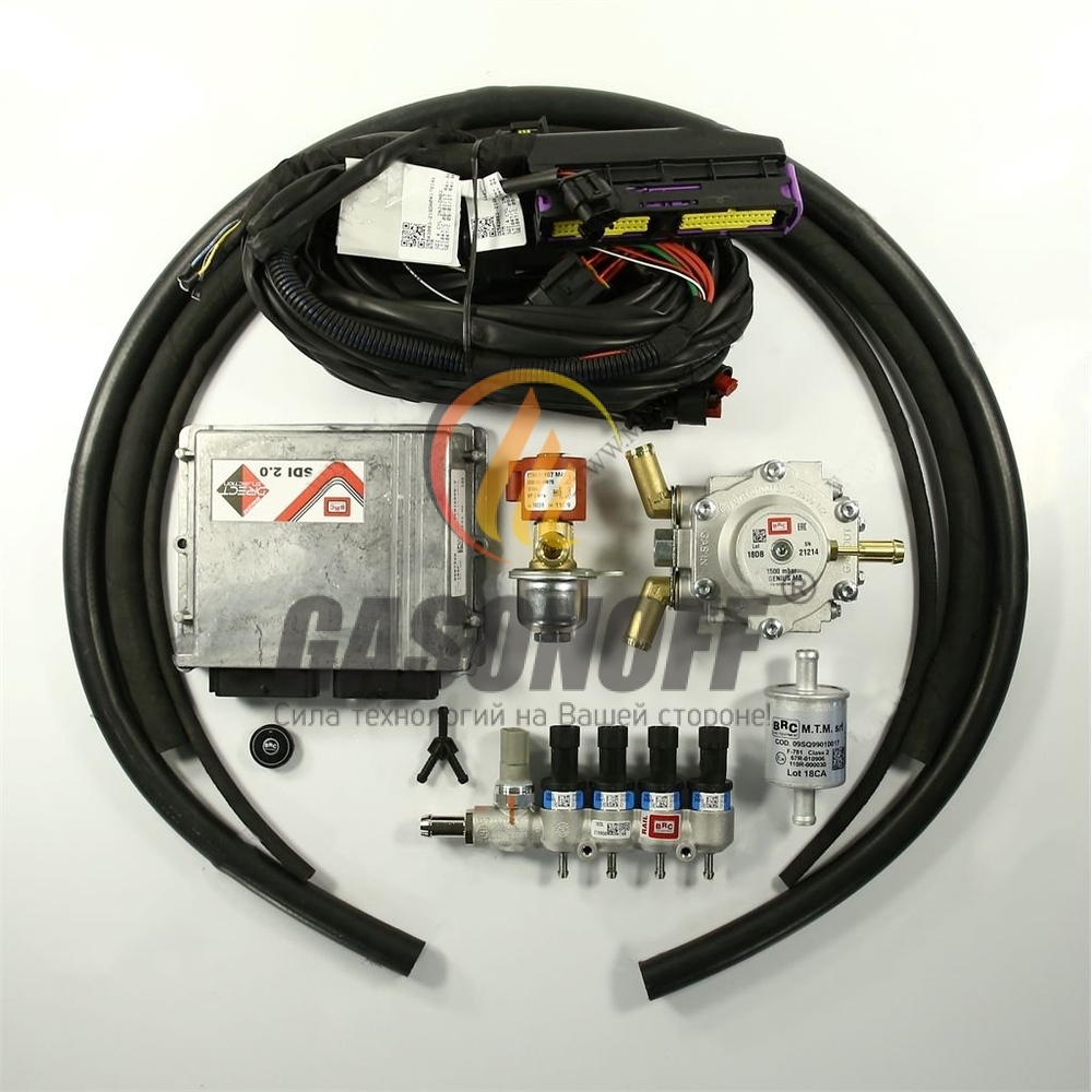 Впрыск BRC для Mazda CX-5 ГБО