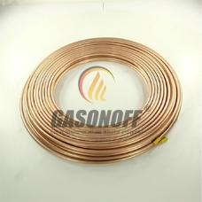 Труба медь 8 мм LPG 0,8 мм (50 м)*