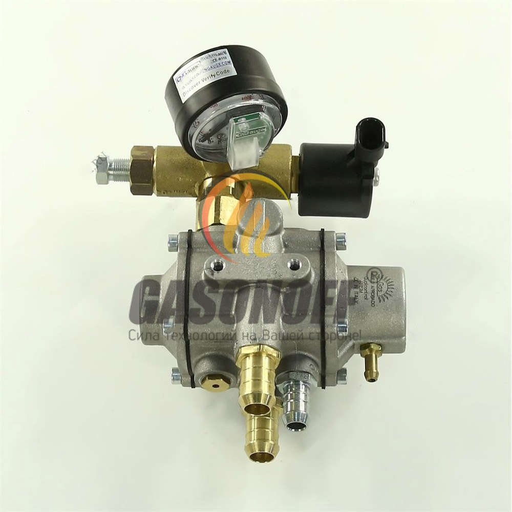 Редуктор впрыск метан ROMANO PRISM 140кВт ( тосольный выход д16) ГБО