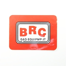 Наклейка BRC 15X10