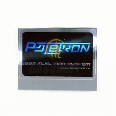 Наклейка Poletron 140X55