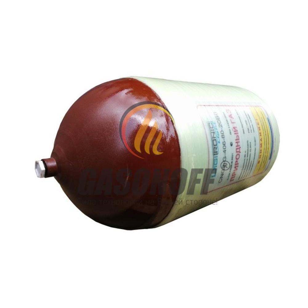 Метановый баллон DIGITRONIC LIGHT 90л [ 406 х 890 ] 76,5 кг (+ вентиль)