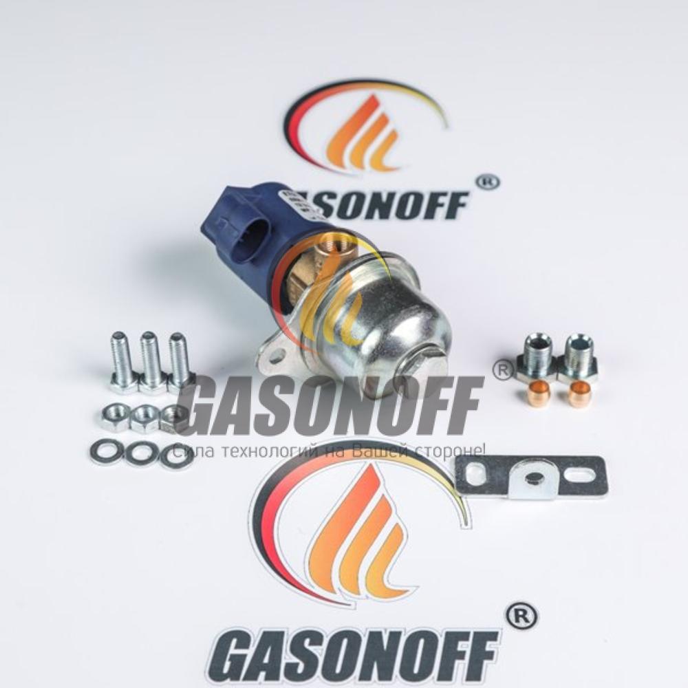 Клапан газовый BRC ЕТ 98 д. 6 мм (под фишку) ГБО