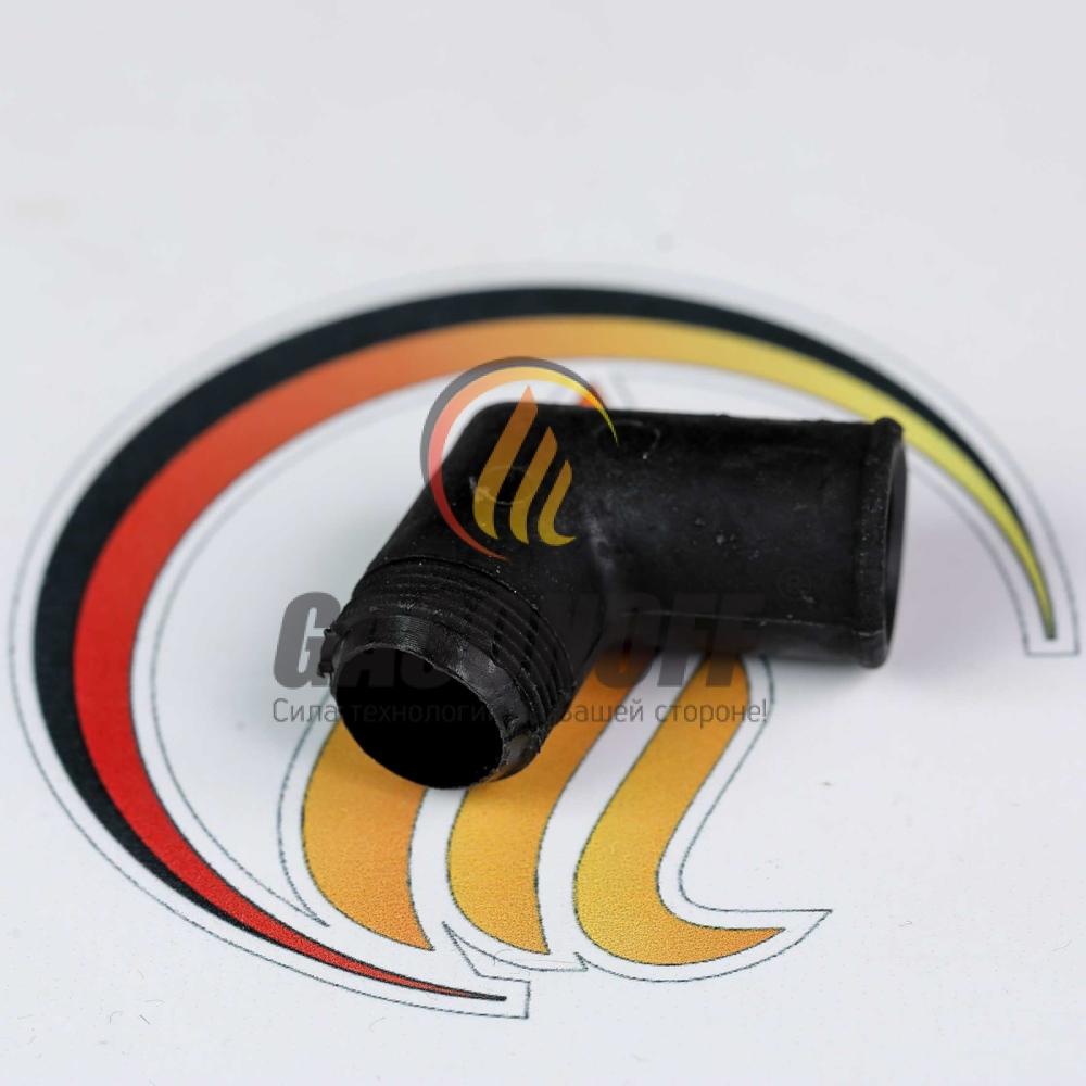Штуцер выхода газа смесителя ВАЗ инж. ( пластик )