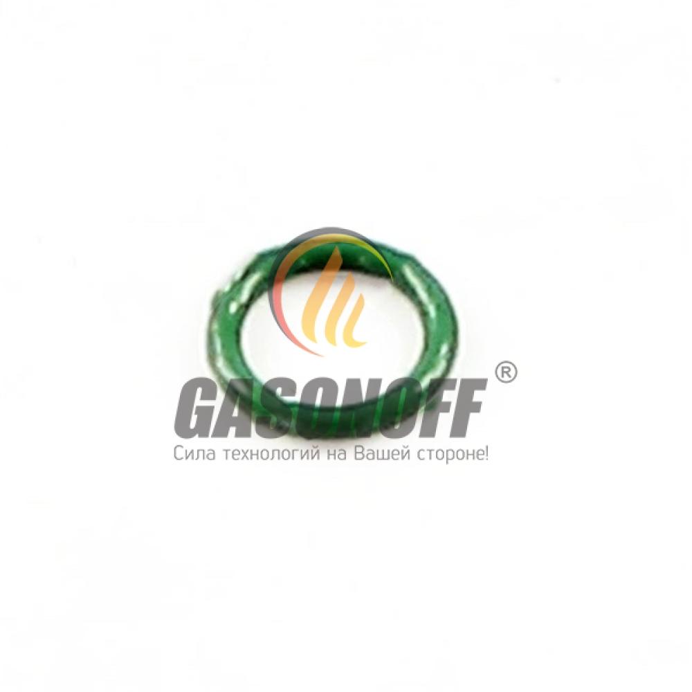 Кольцо - Резинка на шток рейки VALTEK, RAIL (зеленая), 5X1